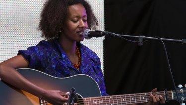 Folk tales: Finnish-Ethiopian singer songwriter Mirel Wagner at Mofo 2016.