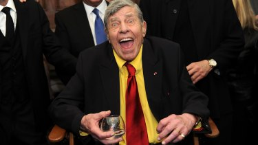 Jerry Lewis in 2016.
