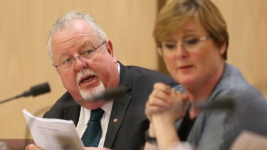 Coalition senator Barry O'Sullivan first raised concerns with former treasurer Joe Hockey more than three years ago.