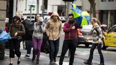 Victorians have been told to brace for more severe weather, including wind warnings, on Monday afternoon.