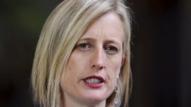 Labor's small business and financial services spokeswoman Katy Gallagher.