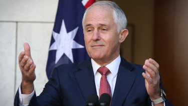 """""""Are you proud of our Australian values? Are you a proud Australian?"""" Malcolm Turnbull asked a journalist at a Thursday press conference."""