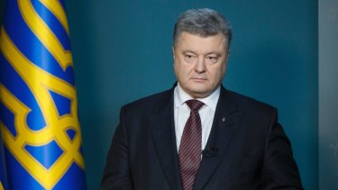Ukrainian President Petro Poroshenko in December, when he told the public that there had been 6500 cyberattacks on 36 Ukrainian targets in just the previous two months and blamed Russian intelligence.