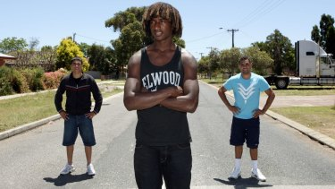 Back in the day: Michael Walters, Nic Naitanui and Chris Yarran.