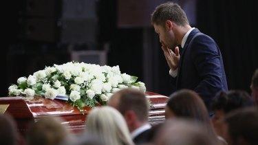 Michael Clarke farewells his friend.