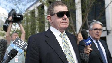 Former parliamentary speaker Peter Slipper.