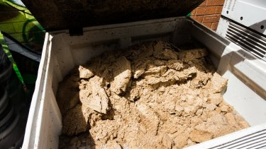 About one tonne of spent grain from the Young Henrys brewery is donated daily to local farmers to use for animal feed.