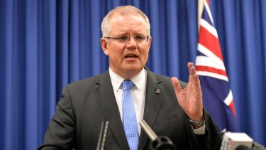 Scott Morrison cited 'national security' as the reason to stand in the way of an Ausgrid deal.