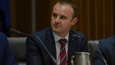 Chief Minister Andrew Barr says the ACT government is committed to increasing renewable energy sources in the territory to 90 per cent.