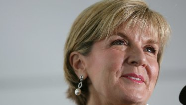 Foreign Minister Julie Bishop says Australia was invited to join the climate coalition.