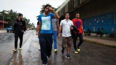 Refugees taken to Manus Island (pictured) would not be eligible for any visa to Australia under the proposed law.