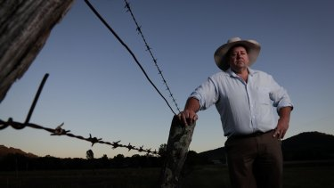 Peter Mailler, CountryMinded candidate for New England, who is running against Barnaby Joyce.