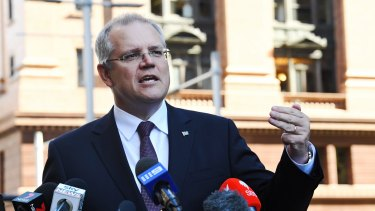 Scott Morrison said it was also up to workers to push through their enterprise agreements as more workers moved to awards.