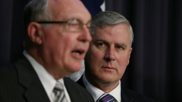 Some see Michael McCormack as the rightful successor to Warren Truss, after all, he's not Barnaby.