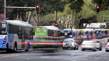 Buses will stop running down George Street in Sydney's CBD as a prelude to the construction of light rail.