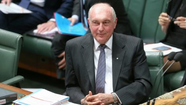 Deputy Prime Minister Warren Truss will announce his retirement.