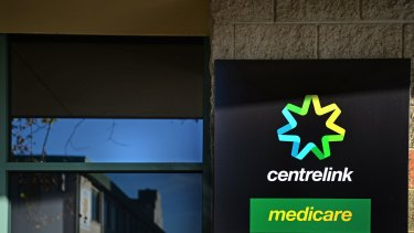 Centrelink has drawn criticism for 'intimidating' text messages to clients.