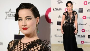 Burlesque star turned designer Dita Von Teese will appear at the festival's closing night.