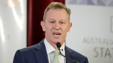 Australian Bureau of Statistics boss David Kalisch.