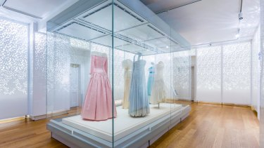 Twenty-five dresses will be on display for the two-year exhibition.