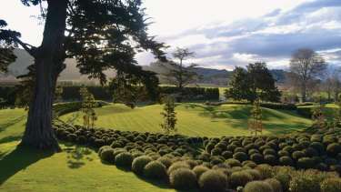 Restored beauty: NBW's Earthworks Garden, on Orango Station, New Zealand.