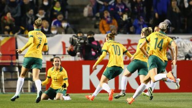 The Matildas have one last competitive hitout left before the Olympic tournament.