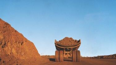 Rio Tinto shares have been surging despite iron ore prices sliding.