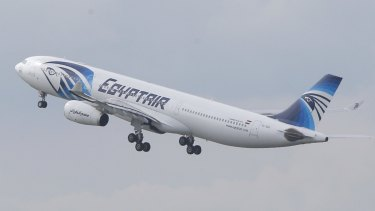The EgyptAir plane was making the journey from  Paris to Cairo when it disappeared.