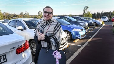 Lian Chami has watched demand for car spaces surge at Leppington Station since it opened early last year.