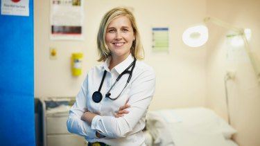 GP trainee Dr Sarah Newman was inspired by her parents to become a doctor.