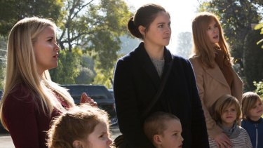 Reece Witherspoon (left), Shailene Woodley and Nicole Kidman star in
