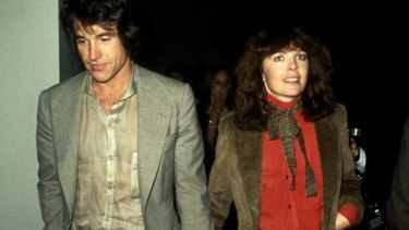 With then-partner Warren Beatty in New York City, circa 1978