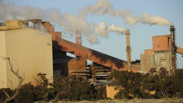 The Arrium plant in Whyalla, South Australia.