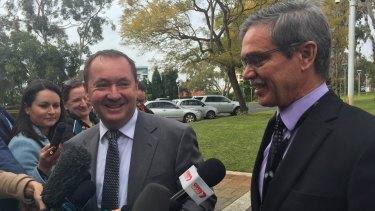 WA Corrective Services minister Joe Francis.