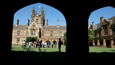 "The Group of Eight, which includes the University of Sydney and the University of Melbourne, have rejected the government's ""flagship courses"" proposal."
