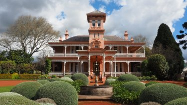 Retford Park at Bowral, the Victorian Italianate-style house designed by Albert Bond.