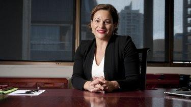 Queensland Deputy Premier Jackie Trad