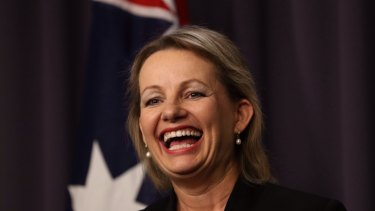 Health minister Sussan Ley has found a more successful approach than her predecessor.