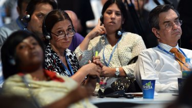 Stalled: Negotiations in Lima towards at the 20th session of the Conference of the Parties on Climate Change have not progressed.