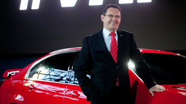 Chairman of Holden, Mark Bernhard.
