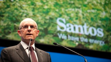 Santos chairman Peter Coates says the strategic review will leave no stone unturned.