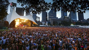 Almost 200 people were charged with drug offences at this year's Field Day music festival in The Domain in Sydney.