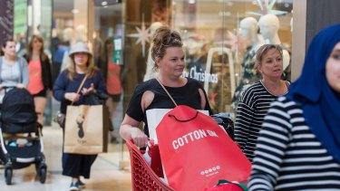 Shop 'til they drop: Concerns linger for retail landlords.