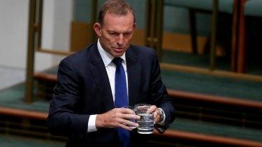"""Insert """"leadership spill"""" joke here."""
