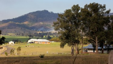 The proposed Rocky Hill mine would create a 220-metre-deep hole near Gloucester.