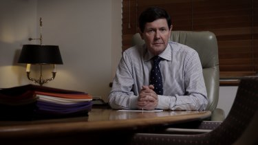 Kevin Andrews became Defence Minister in December 2014.