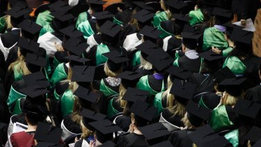 Many university students are still in the dark about the cost of their degrees.