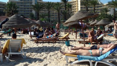 Sousse, a popular tourist destination 140 kilometres south of the Tunisian capital.