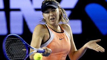 Denial: Maria Sharapova says information about the banned substance was hard to find.