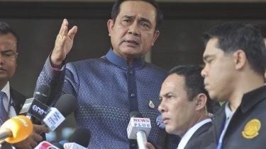 Thai Prime Minister Prayuth Chan-ocha has interesting ideas for leads.
